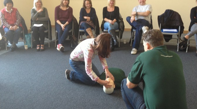 First Aid in the office or studio